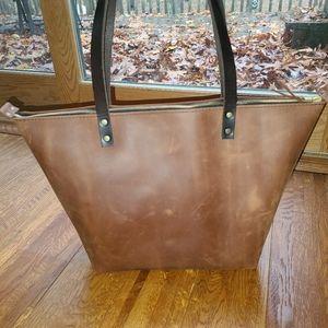 Portland Leather Goods Large Zippered Moab